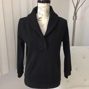 J. Crew Shawl Collar Pullover Sweatshirt